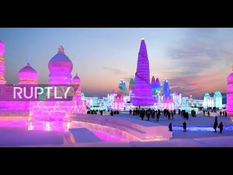 Ledena bajka: Najveći svetski festival leda i snega
