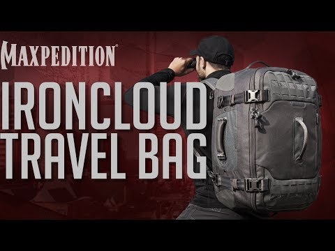 MAXPEDITION Advanced Gear Research IRONCLOUD Adventure Travel Bag