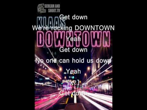 Klaas - Downtown (Lyrics)