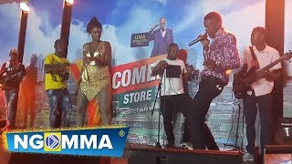 Jose chameleon calls Cindy Sanyu on stage at Comedy store