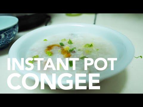 Salted Pork Congee - Instant Pot