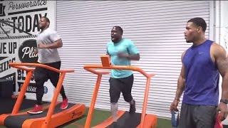 Kevin Hart & Ndamukong Suh Workout | Just-Train TV