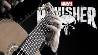 The Punisher: Main Theme (Classical Guitar Cover by BeyondTheGuitar)