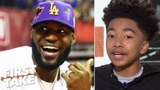 Miles Brown calls himself a 'LeBron expert' and predicts he will return to MVP form | First Take