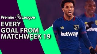 Every goal from Premier League Matchweek 19 | NBC Sports