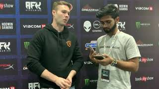 Interview with Zak Holman, Team MIneski's Manager