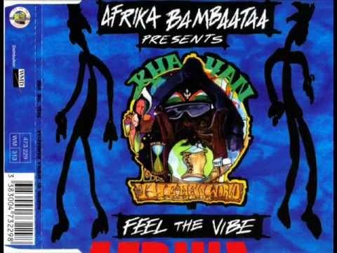 AFRIKA BAMBAATAA PRES. KHAYAN - FEEL THE VIBE (CLUB MIX) (1994)