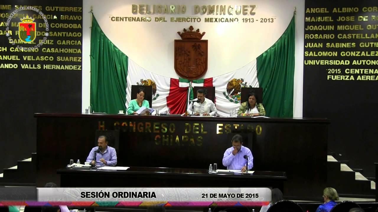 Sesión Ordinaria 21 de Mayo de 2015