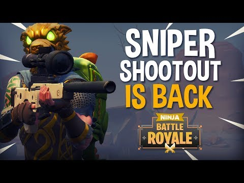Sniper Shootout Is Back!! 24 Frags - Fortnite Battle Royale Gameplay - Ninja