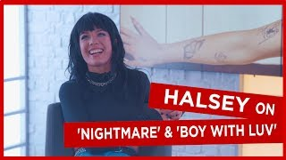 'It's always J-Hope!': Halsey on which BTS member makes fun of her the most and new song 'Nightmare'