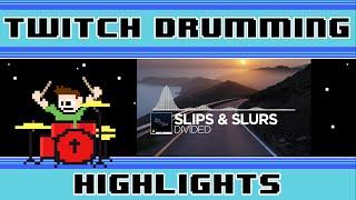 Slips & Slurs - Divided VIP (Blind Drum Cover) -- The8BitDrummer