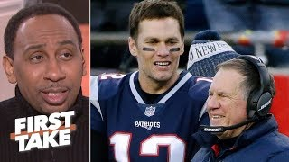 Stephen A. doesn't trust Patriots to win against Chargers | First Take