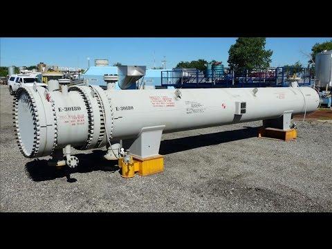 Unused- Ilsung Corporation 4 Pass U Tube Shell & Tube Heat Exchanger - stock # 48291044