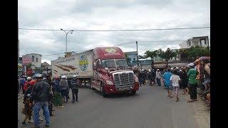 Tai nạn giao thông ở Thái Bình: Xe container tông 2 nữ sinh trên xe đạp điện một chết 1 bị thương