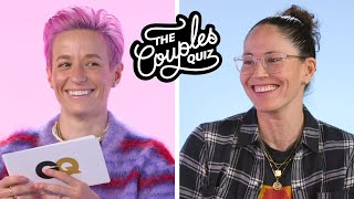 Megan Rapinoe & Sue Bird Ask Each Other 43 Questions | The Couples Quiz | GQ