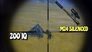 Watch This if you love M24 | PUBG Mobile | Silenced M24 + 8X