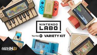 Nintendo Labo Variety Kit -- w tym szaleństwie jest metoda!