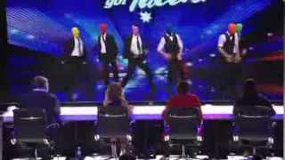 Australia's Got Talent 2013 | Auditions | Swagamama The Masked Dancers