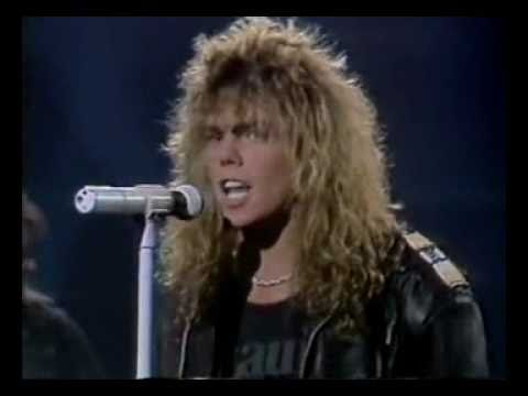 Europe - Superstitious on TV in Spain 1988