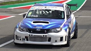 600HP Subaru WRX STi Time Attack Build with Precision Turbo & 6-Speed Sequential ONBOARD @ Monza!