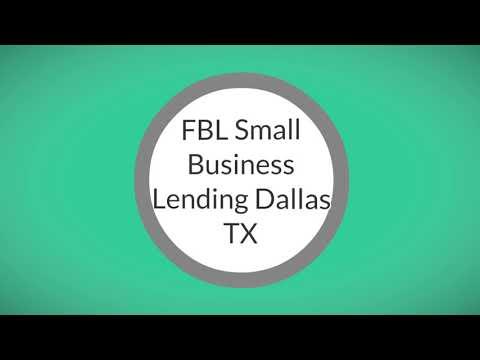FBL Small Business Lending Dallas TX   469-893-1609