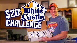 WHITE CASTLE CRAVE CASE CHALLENGE (30 SLIDERS)