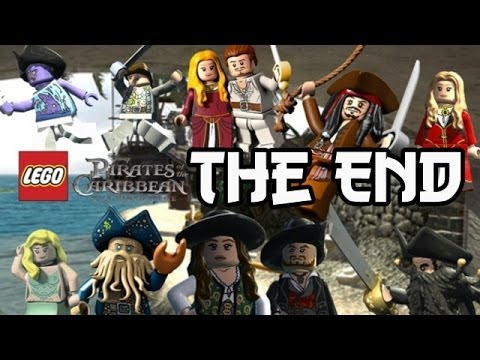 LEGO: Pirates Of The Caribbean - The Fountain Of Youth - THE END - Smashpipe Games