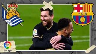 Real Sociedad vs Barcelona | LALIGA HIGHLIGHTS | 3/21/2021 | beIN SPORTS USA