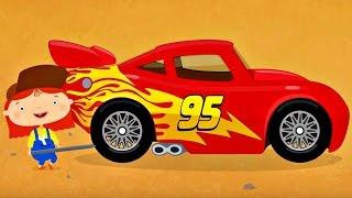 Compilation 50 min de dessins animés de voitures du garage de McWheelie