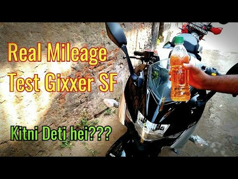 video Suzuki Gixxer SF