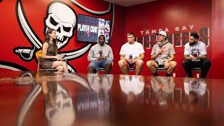 Bucs Team Chat with Brady, Gronk, Evans & David