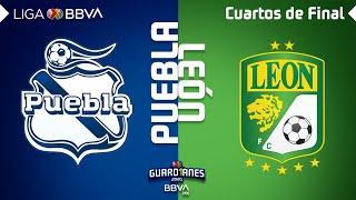 Resumen y Goles   Puebla vs León   Liga BBVA MX - Guardianes 2020 - Cuartos de Final