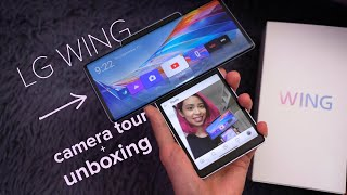 LG Wing camera tour + unboxing: SWIVEL PHONE FTW!!