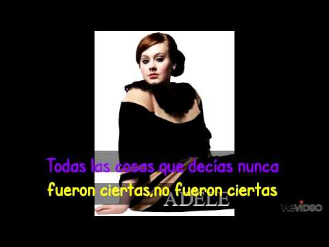 Baixar Adele Set Fire to the Rain - subtitulado en español