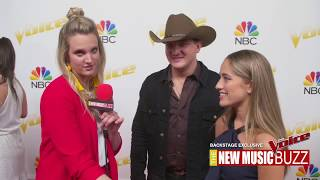 THE VOICE EXCLUSIVE BACKSTAGE - TEAM KELLY