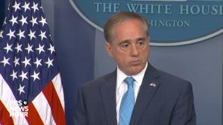 WATCH LIVE: Veterans Affairs Secretary David Shulkin holds news briefing at the White House