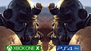 Fallout 76 On PS4 Pro And Xbox One X Is A Technical Mess, Creation Engine Needs To Be Overhauled!