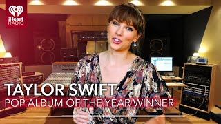 Taylor Swift Acceptance Speech - Pop Album Of The Year | 2021 iHeartRadio Music Awards