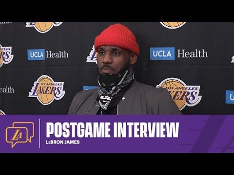 Lakers Postgame: LeBron James (2/22/21)