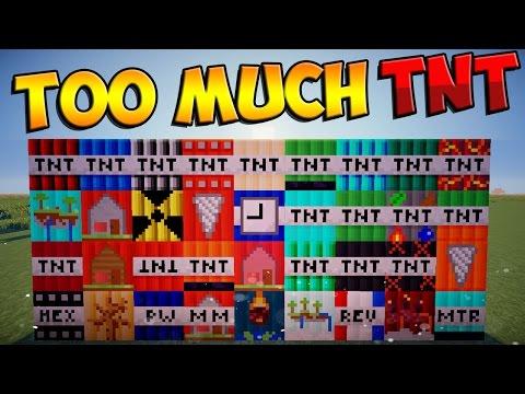 Minecraft mods too much tnt mod 45 tnt s minecraft mod showcase