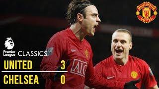 Manchester United 3-0 Chelsea (08/09) | Premier League Classics | Manchester United