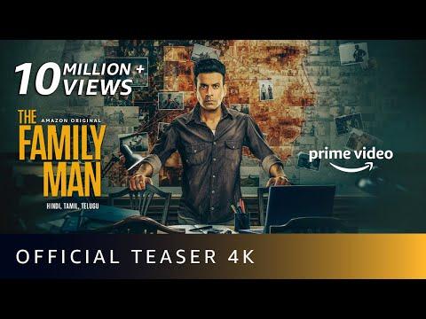 The Family Man season 2 - Official teaser- Manoj Bajpayee, Samantha, Priyamani