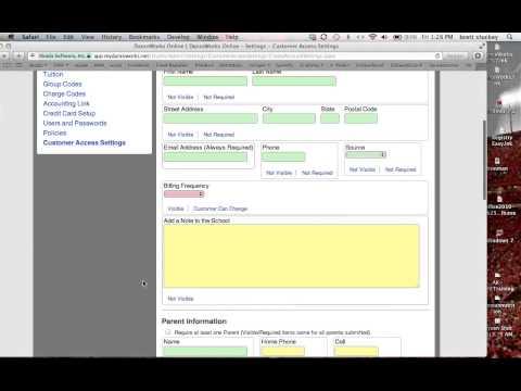 DanceWorks Online Webinar: Customer Access and Online Registration