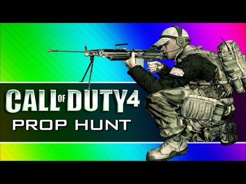 Baixar Call of Duty 4: Prop Hunt Funny Moments - First Blood, Claymore Tutorial, Yellow Crates! (CoD4 Mod)