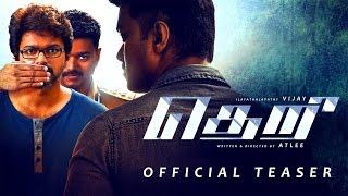 Official teaser of Theri starring Vijay, Samantha, Amy Jac..