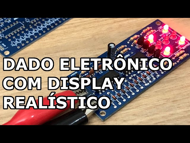 CONFIRA ESTE DADO ELETRÔNICO COM DISPLAY REALÍSTICO!