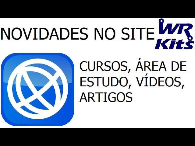 NOVIDADES NO SITE | CURSOS | ÁREA DE ESTUDO | VÍDEOS | ARTIGOS