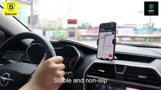 Bộ đế giữ điện thoại dùng trong xe hơi Baseus - Hút chân không | Phụ Kiện Damitri