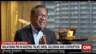 Malaysia's Anwar is gunning for Goldman Sachs