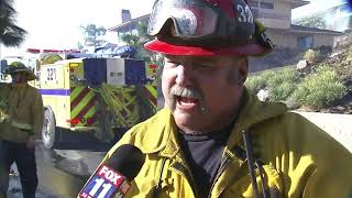 'It's a calling.' Ventura County Fire captain talks firefighting